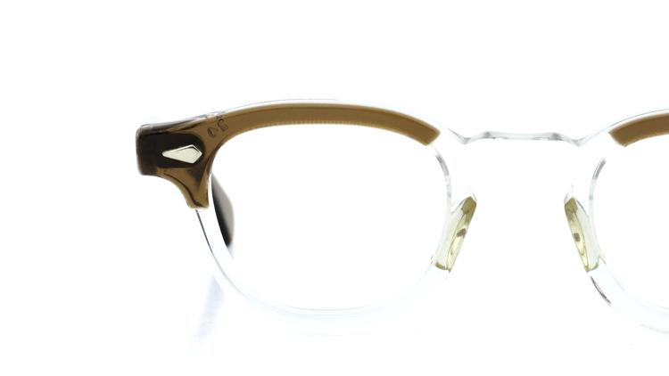vintage TART OPTICAL メガネフレーム 50s ARNEL BROWN-CLEAR 46-22 (v1) 12