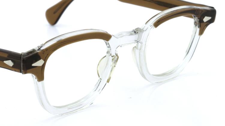 vintage TART OPTICAL メガネフレーム 50s ARNEL BROWN-CLEAR 46-22 (v1) 6