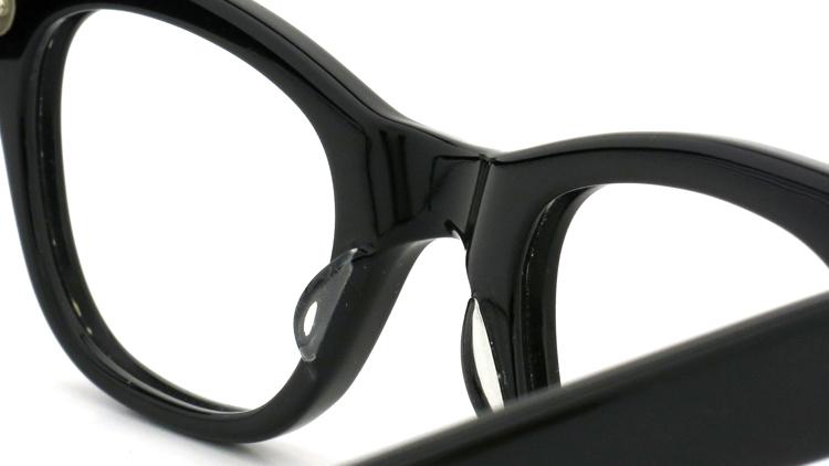 vintage TART OPTICAL メガネフレーム 50s COUNTDOWN BLACK 44-24 (n3) 8