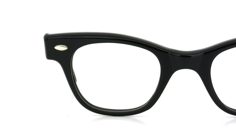 vintage TART OPTICAL メガネフレーム 50s COUNTDOWN BLACK 44-24 (n3) 12