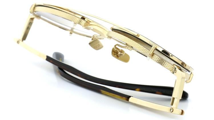 DITA (ディータ) メガネ 限定生産モデル AVRO-titanium DRX-2056-B-GLD-BLK-50 with clipon 13