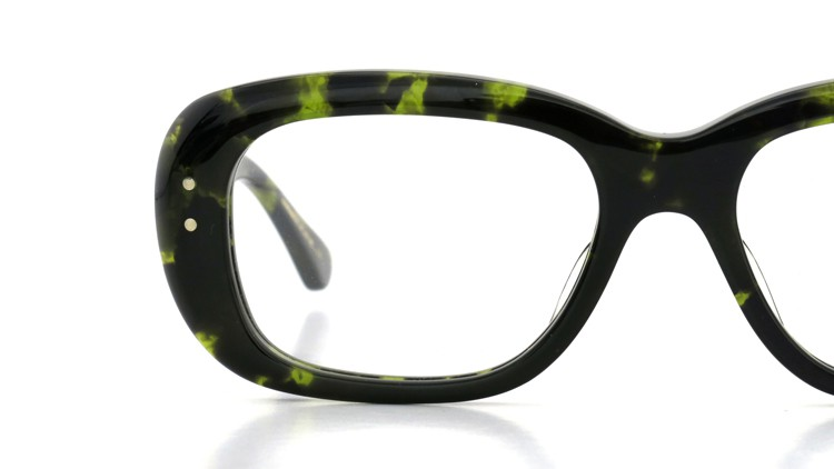 Oliver Goldsmith (オリバーゴールドスミス) メガネ RIP Green Tortoiseshell 12