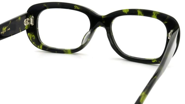 Oliver Goldsmith (オリバーゴールドスミス) メガネ RIP Green Tortoiseshell 7