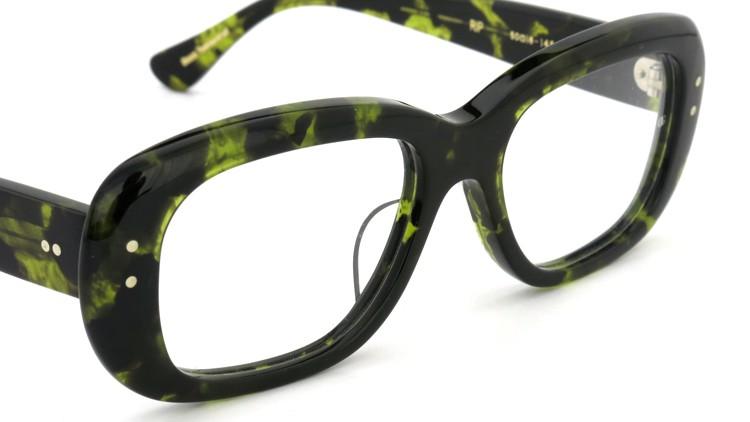 Oliver Goldsmith (オリバーゴールドスミス) メガネ RIP Green Tortoiseshell 6
