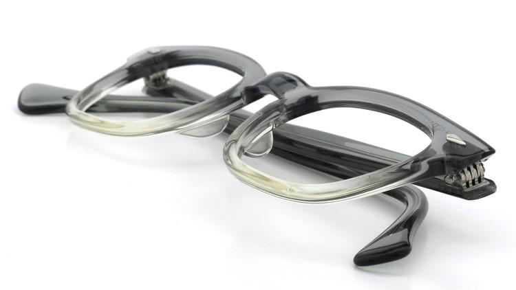 American Optical アメリカンオプチカル (AO)Vintage ヴィンテージ タ?イヤ鋲 Grey-Clear-Gradation 46-24 11