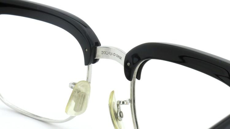 American Optical アメリカンオプチカル (AO)Vintage ヴィンテージ BRONX ブロンクス 1/10-12KGF Black-Wood 48-20 8