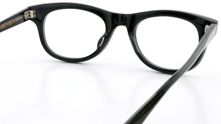 GLCO (ジーエルシーオー)  × MARK MCNAIRY (マークマクナイリー) コラボレーション メガネ MM1005 47size ROWAN BLK 7