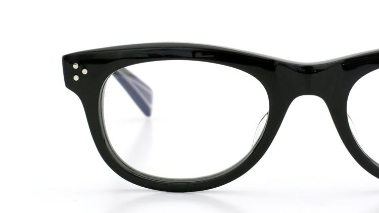 GLCO (ジーエルシーオー)  × MARK MCNAIRY (マークマクナイリー) コラボレーション メガネ MM1005 47size ROWAN BLK 17