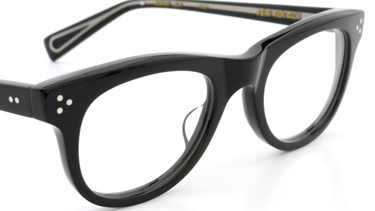 GLCO (ジーエルシーオー)  × MARK MCNAIRY (マークマクナイリー) コラボレーション メガネ MM1005 47size ROWAN BLK 6
