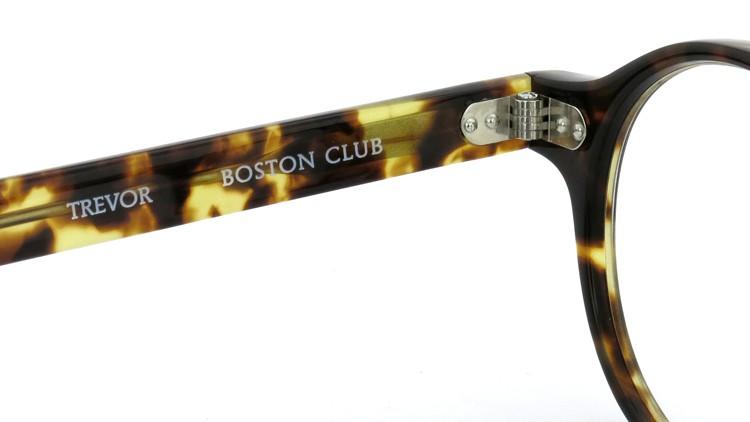 BOSTON CLUB ボストンクラブ 2014年S/Sコレクション 4月発表の最新作コンビネーション メガネ フレーム TREVOR Col.02 Demi 46size 9