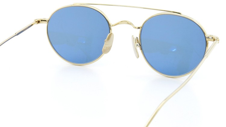 THOM BROWNE. (トムブラウン)サングラス TB-101 D-T BLK 12K-GOLD 49size Dark Blue 7