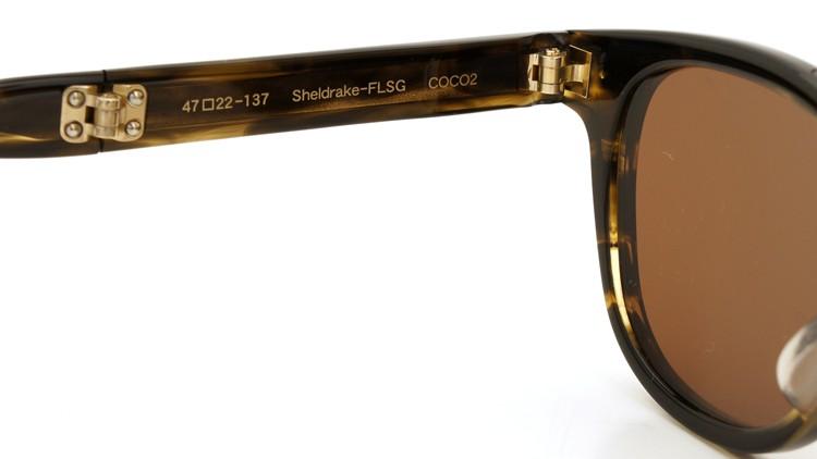 OLIVER PEOPLES(オリバーピープルズ) 2014年新作 折りたたみサングラス Sheldrake-FLSG COCO2 17