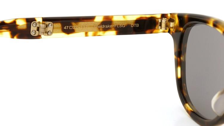 OLIVER PEOPLES(オリバーピープルズ) 2014年新作 折りたたみサングラス Sheldrake-FLSG DTB 16