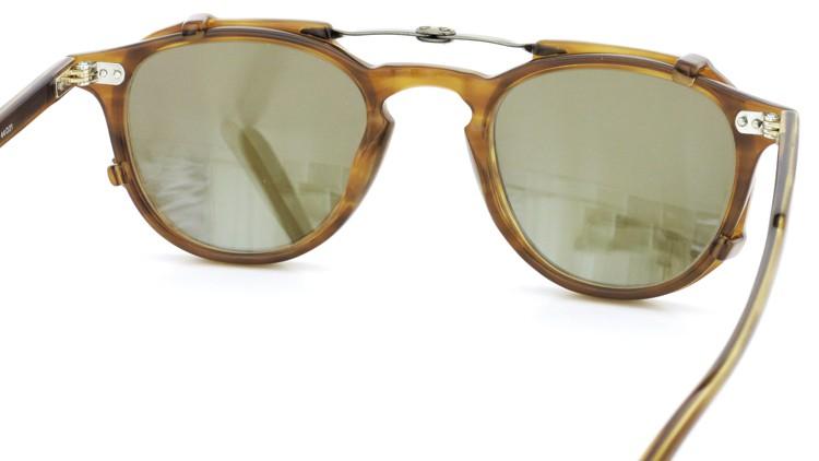 GLCO (ジーエルシーオー) メガネ+クリップオンサングラス セット HAMPTON ハンプトン 44size DB 8