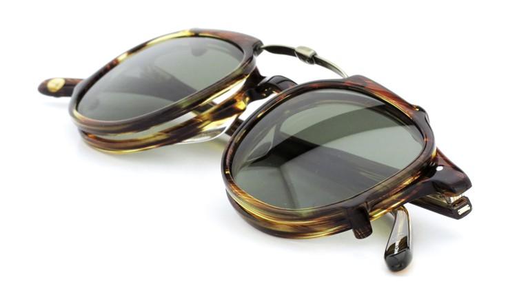 GLCO (ジーエルシーオー) メガネ+クリップオンサングラス セット HAMPTON ハンプトン 44size CB 12