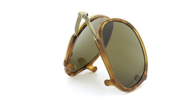 GLCO (ジーエルシーオー) メガネ+クリップオンサングラス セット HAMPTON ハンプトン 44size DB 15