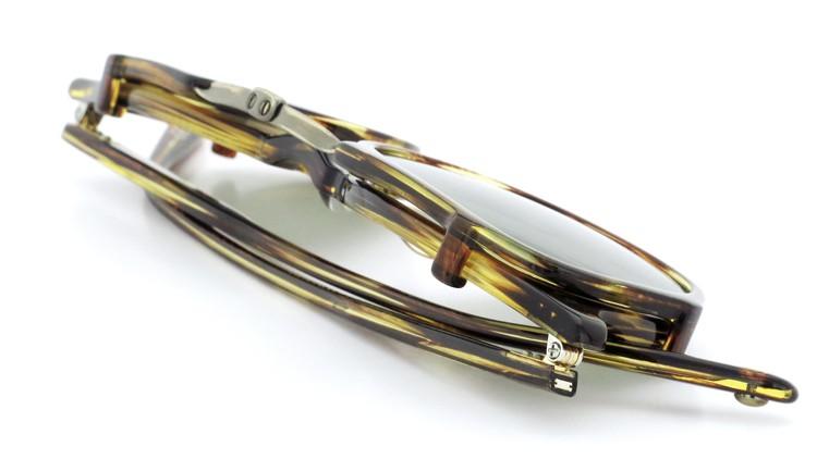GLCO (ジーエルシーオー) メガネ+クリップオンサングラス セット HAMPTON ハンプトン 44size CB 13