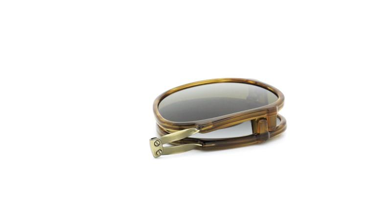GLCO (ジーエルシーオー) メガネ+クリップオンサングラス セット HAMPTON ハンプトン 44size DB 16
