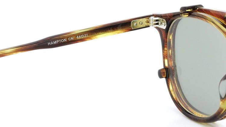 GLCO (ジーエルシーオー) メガネ+クリップオンサングラス セット HAMPTON ハンプトン 44size CB 10