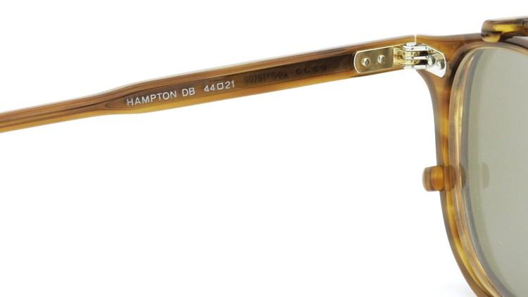 GLCO (ジーエルシーオー) メガネ+クリップオンサングラス セット HAMPTON ハンプトン 44size DB 10