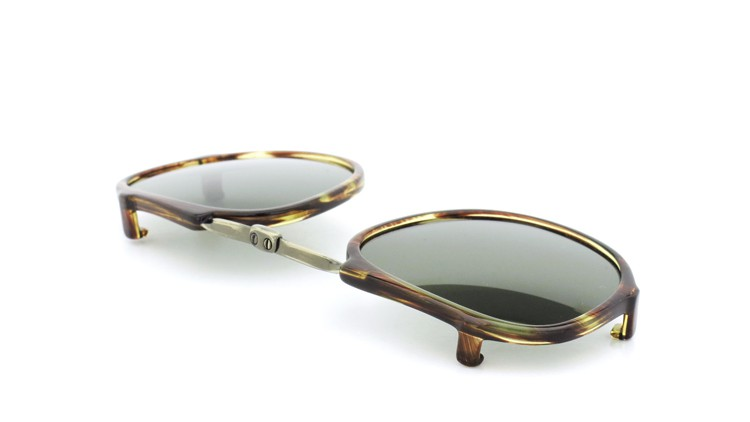 GLCO (ジーエルシーオー) メガネ+クリップオンサングラス セット HAMPTON ハンプトン 44size CB 14