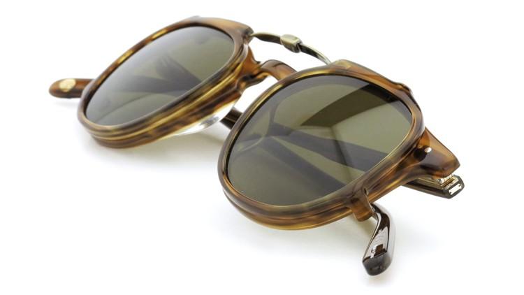 GLCO (ジーエルシーオー) メガネ+クリップオンサングラス セット HAMPTON ハンプトン 44size DB 12