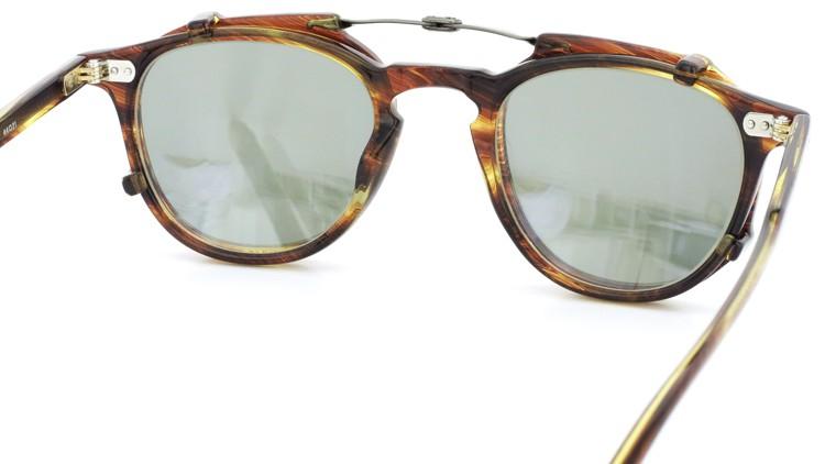 GLCO (ジーエルシーオー) メガネ+クリップオンサングラス セット HAMPTON ハンプトン 44size CB 8