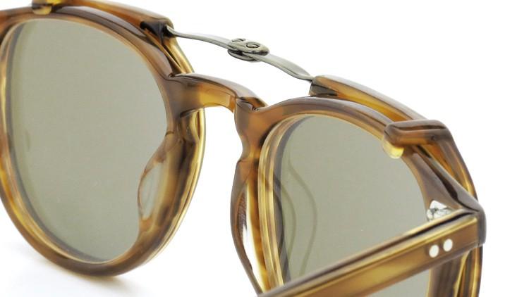 GLCO (ジーエルシーオー) メガネ+クリップオンサングラス セット HAMPTON ハンプトン 44size DB 9