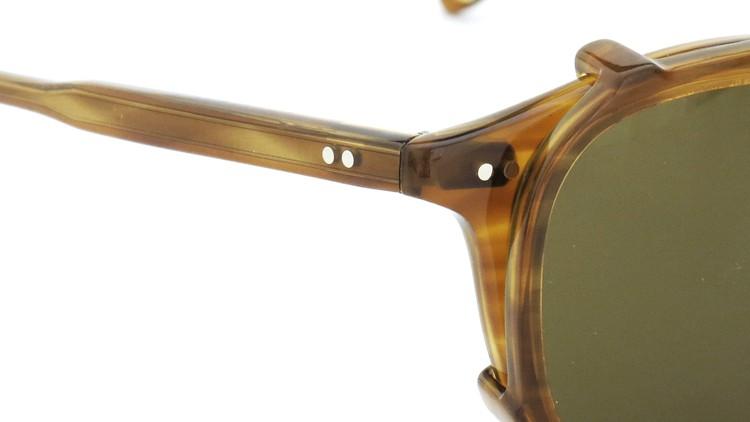 GLCO (ジーエルシーオー) メガネ+クリップオンサングラス セット HAMPTON ハンプトン 44size DB 6