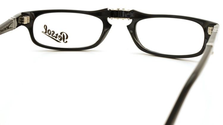 Persol (ペルソール) 折り畳みメガネ 2886-V ブラック 51size 7