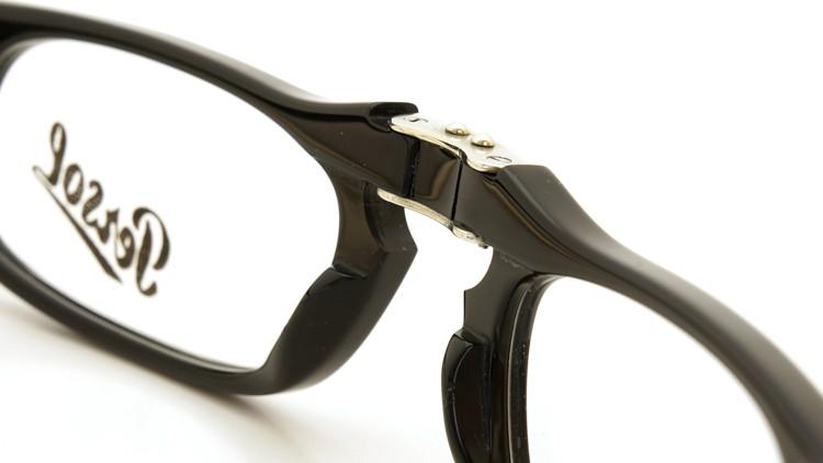 Persol (ペルソール) 折り畳みメガネ 2886-V ブラック 51size 8