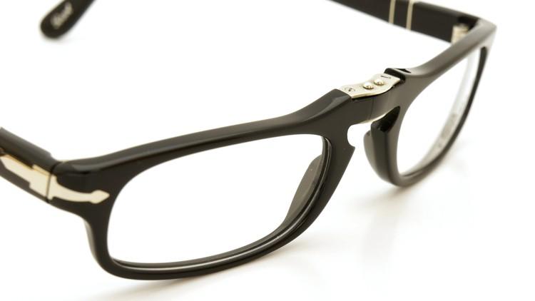 Persol (ペルソール) 折り畳みメガネ 2886-V ブラック 51size 6