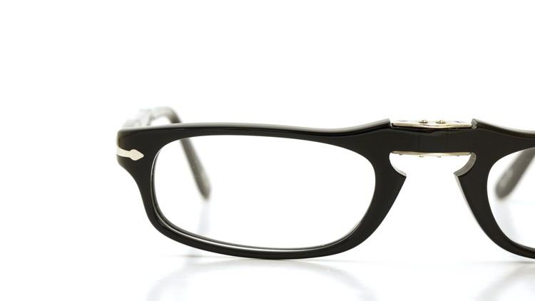 Persol (ペルソール) 折り畳みメガネ 2886-V ブラック 51size 15