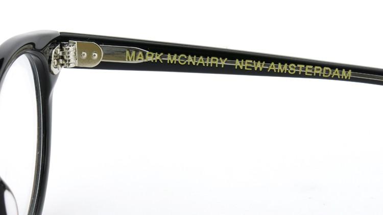 GLCO (ジーエルシーオー) ×  MARK MCNAIRY (マークマクナイリー) コラボレーション メガネ MM1007 44size MONROE BLK 12