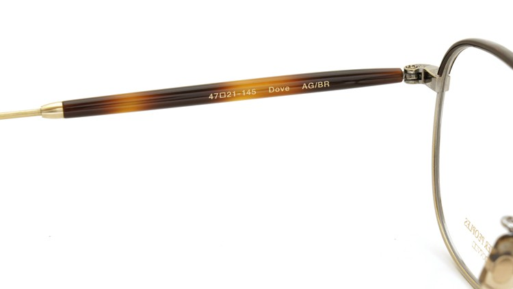 OLIVER PEOPLES (オリバーピープルズ) 2014S/S 新作メガネ Dove AG/BR 9