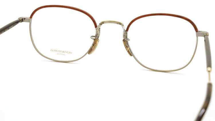 OLIVER PEOPLES (オリバーピープルズ) 2014S/S 新作メガネ Dove AG/WN 7