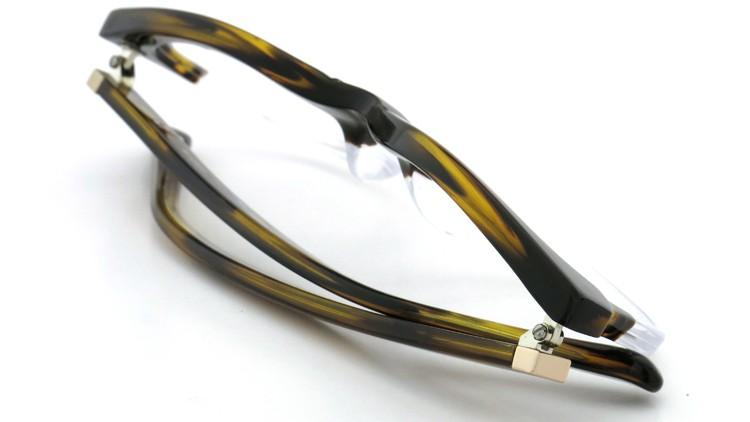 3.1 phillip lim (スリーワン フィリップ リム) メガネ PL/48/3 dark-brown-demi-clear 51.5size 12