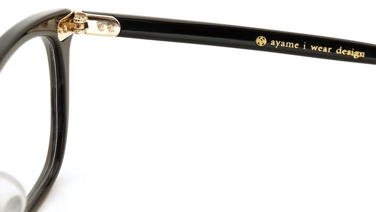 ayame (アヤメ) 2014年新作 メガネ MARS ブラック 10