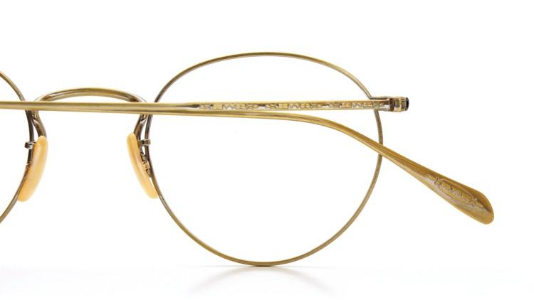 OLIVER PEOPLES (オリバーピープルズ) メガネ Gallaway ギャラウェイ TITANIUM Antique-Gold 14