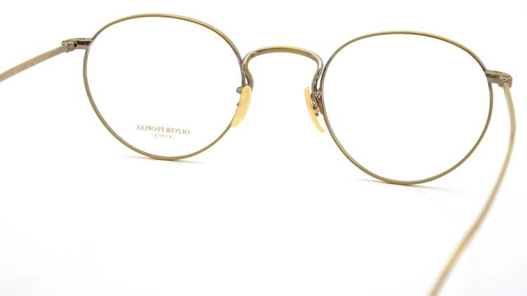 OLIVER PEOPLES (オリバーピープルズ) メガネ Gallaway ギャラウェイ TITANIUM Antique-Gold 7