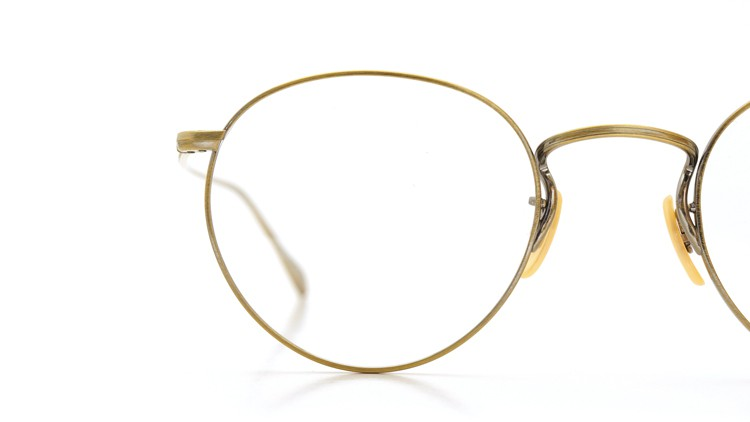 OLIVER PEOPLES (オリバーピープルズ) メガネ Gallaway ギャラウェイ TITANIUM Antique-Gold 15