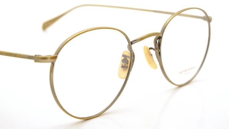OLIVER PEOPLES (オリバーピープルズ) メガネ Gallaway ギャラウェイ TITANIUM Antique-Gold 6