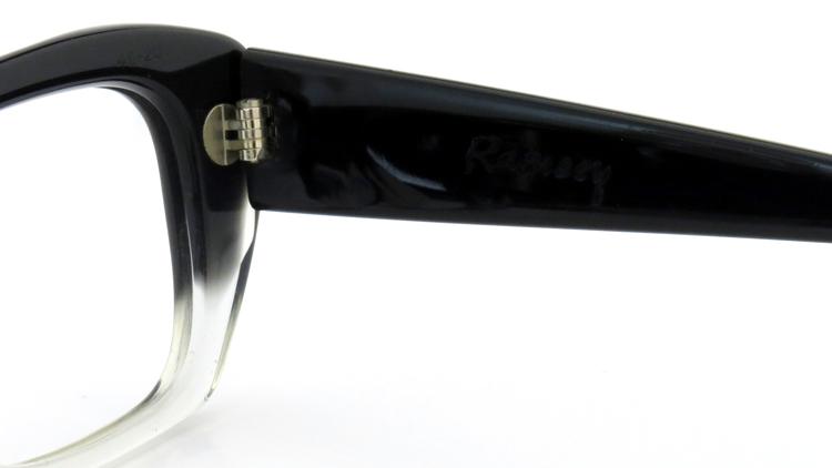 UNITED KINGDOM Vintageブリティッシュ ヴィンテージ メガネフレーム M.Wiseman&Co.,ltd. Ramsey 50-20 BLACK-CLEAR-fade 10
