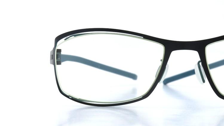 spec espace (スペックエスパス) メガネ ES-6302 ブラック/ダークターコイズブルー 14