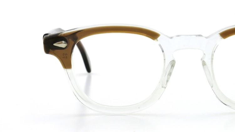 TART Optical タートオプティカル ヴィンテージ メガネ ARNEL アーネル BROWN SM-CLEAR 46-24 14