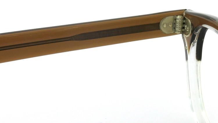 TART Optical タートオプティカル ヴィンテージ メガネ ARNEL アーネル BROWN SM-CLEAR 46-24 9