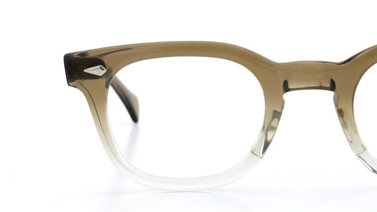 American Optical アメリカンオプチカル (AO)Vintage ヴィンテージ メガネ ダイヤ鋲 Brown Fade 46-24 14