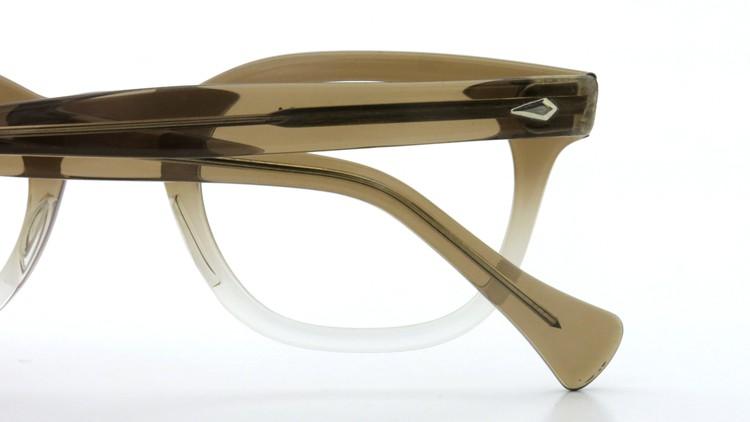 American Optical アメリカンオプチカル (AO)Vintage ヴィンテージ メガネ ダイヤ鋲 Brown Fade 46-24 13