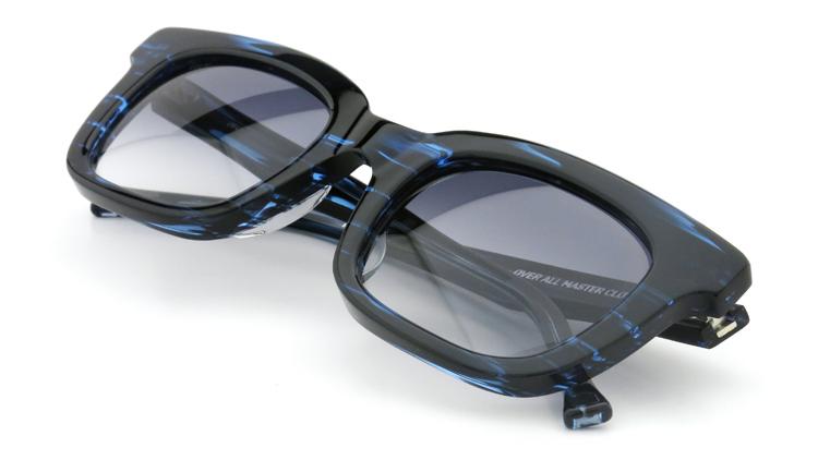 OAMC(オーバーオールマスタークロス)サングラス arc アーク 50size BLUE SASA/BLUE 1/2 12