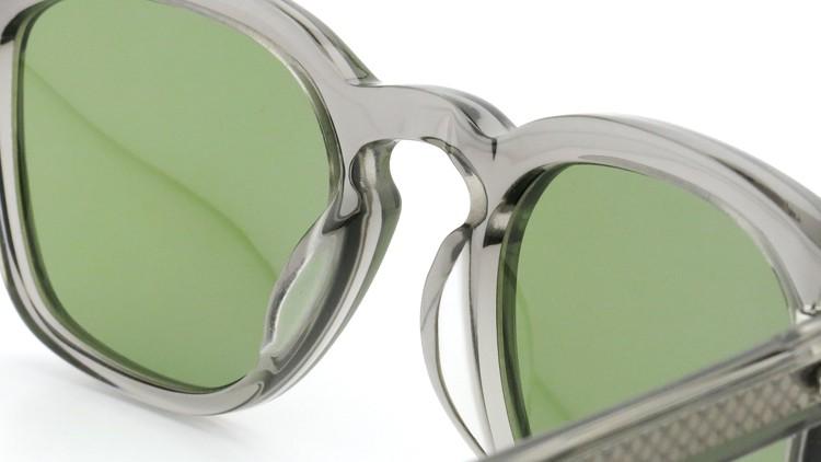 OAMC(オーバーオールマスタークロス)サングラス d-lux d-ルクス 49size GREY CRYSTAL/LT GREEN 8